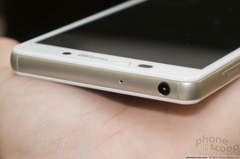 Xperia Z4v 3.5 mm headphone slot