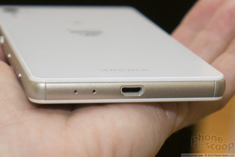Xperia Z4v capless USB port