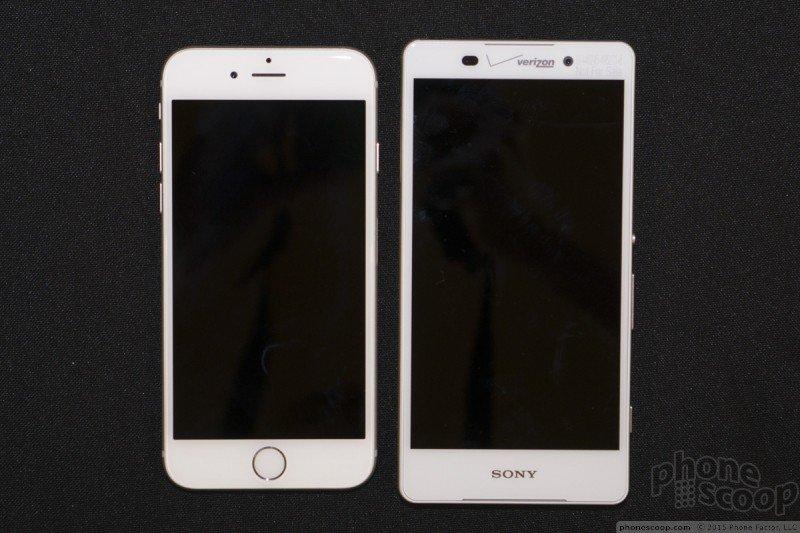 iPhone 6 vs Xperia Z4v
