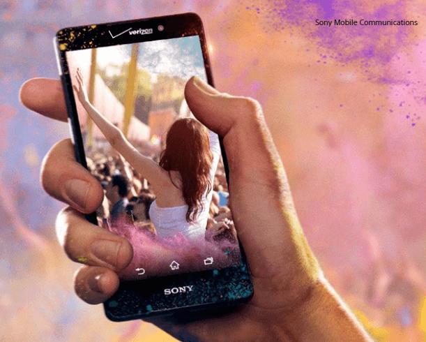 Verizon Xperia Z4v 2K screen