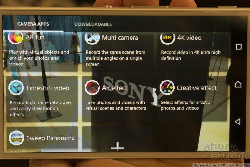 Verizon Xperia Z4v Camera