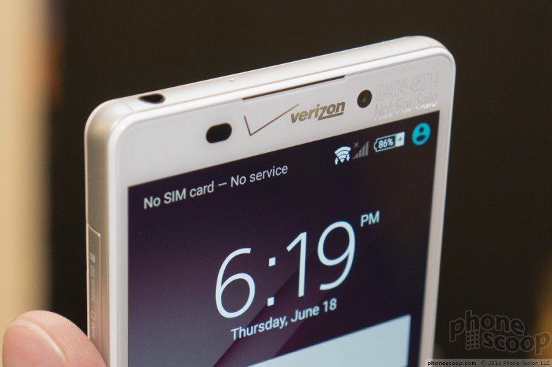 Xperia Z4v Verizon Logo