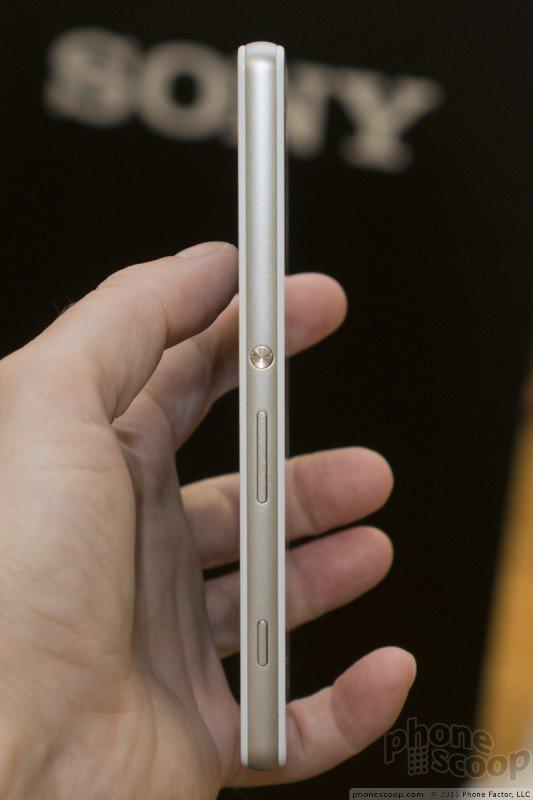 Xperia Z4v power button pic