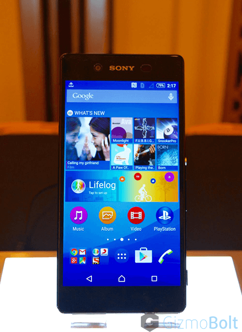 Xperia Z3+ Price Rs 55990 in India