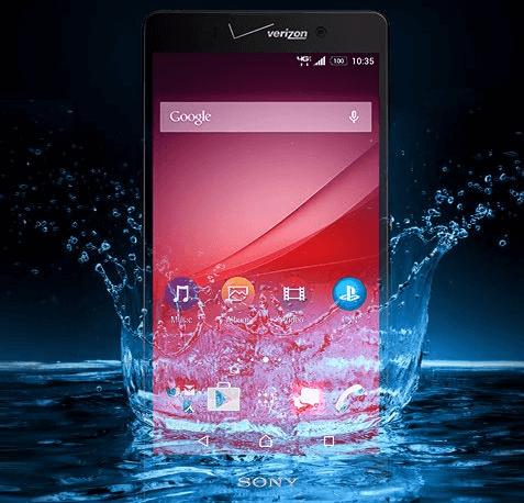 Sony Xperia Z4v Verizon USA launch