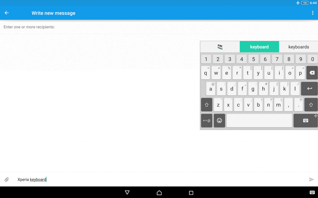 Download Xperia Keyboard 6.6.A.0.52 apk