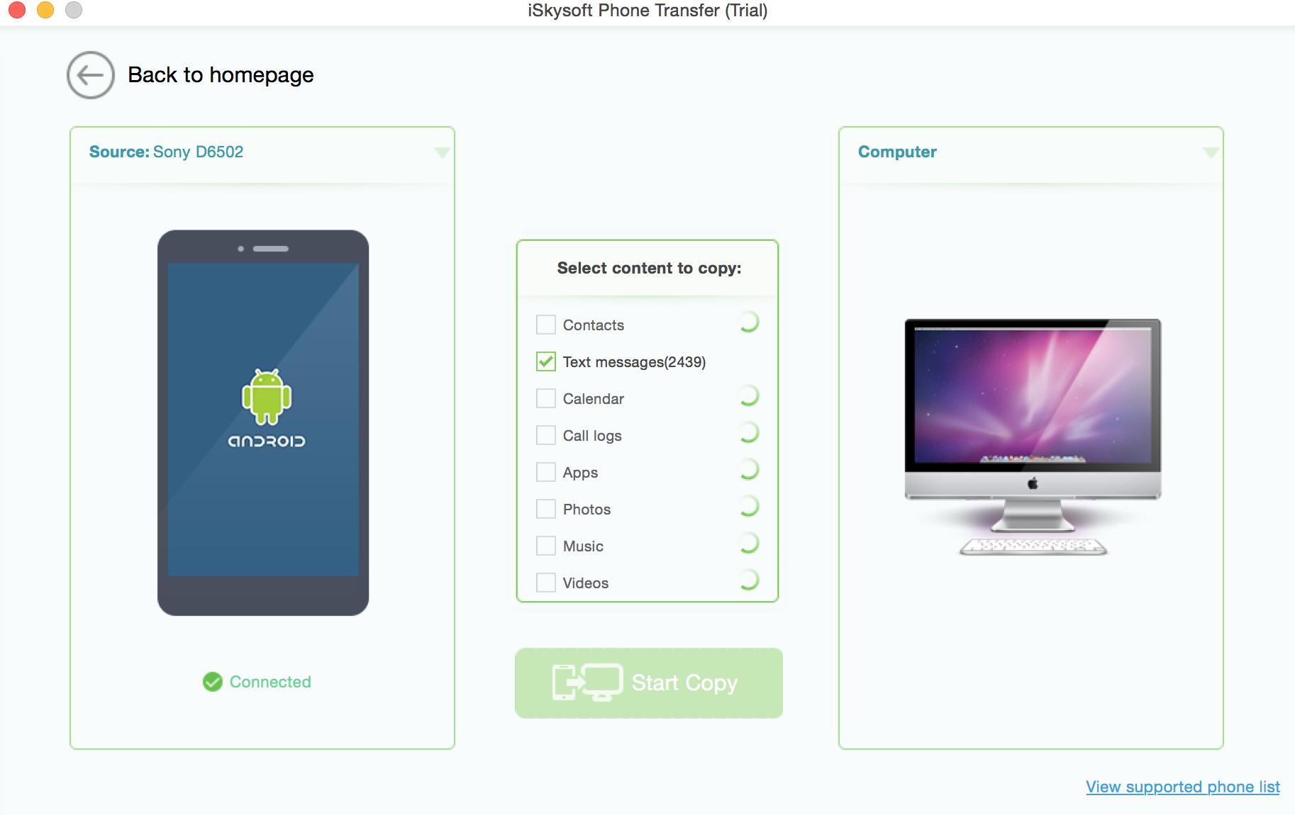 download iskysoft phone transfer