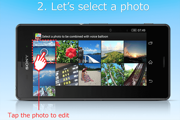 Download Sony balloon photo(beta) app