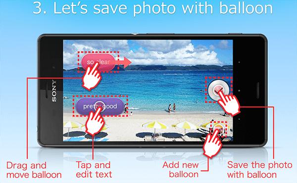 Sony balloon photo(beta) apk