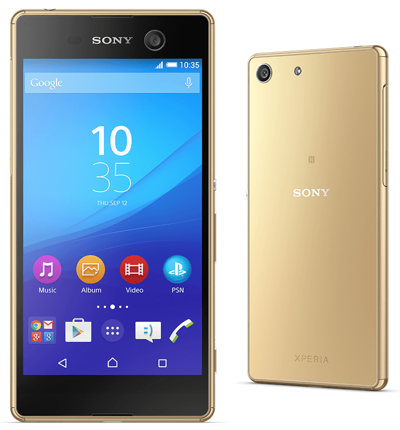 Xperia M5 - Gold Color