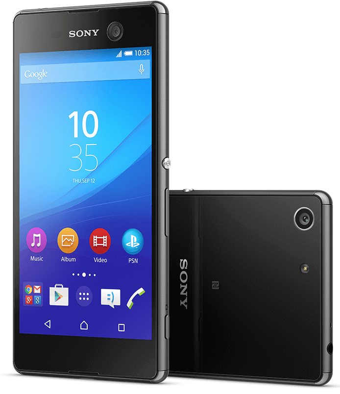 Xperia M5 with 21.5 MP rear camera