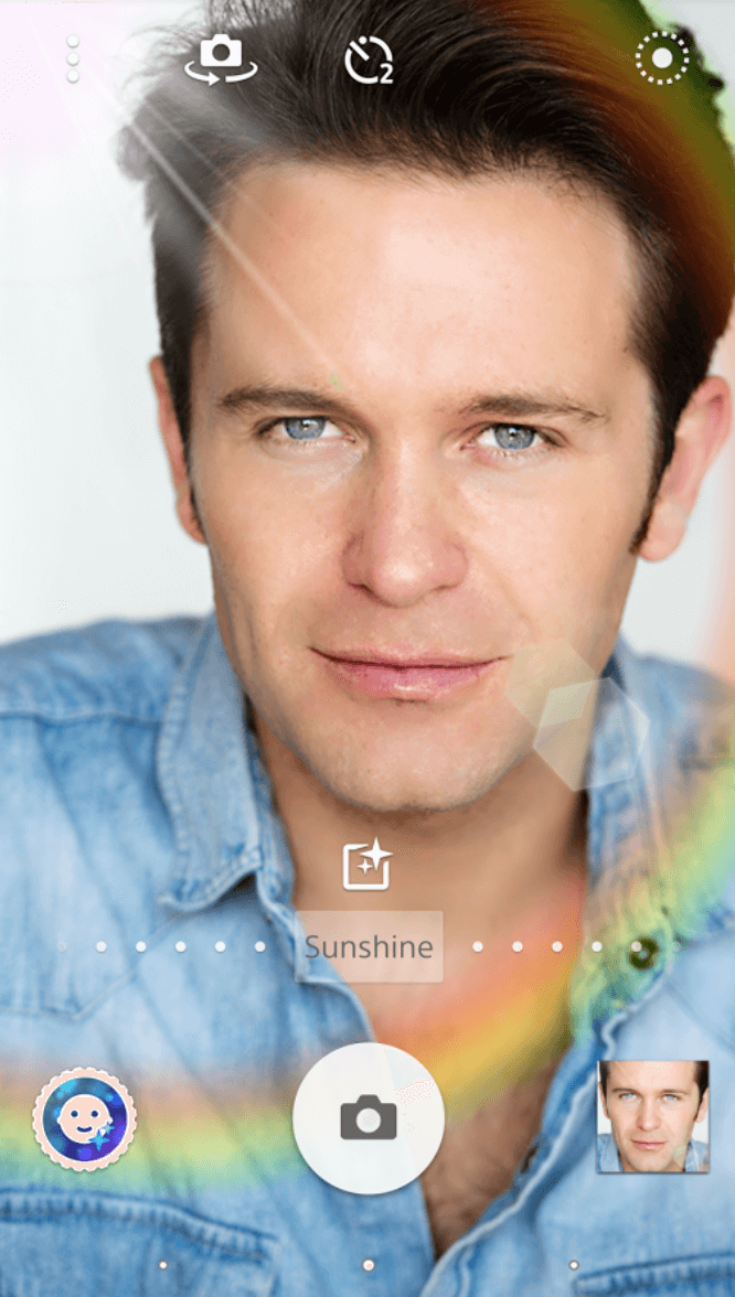 Sony Style portrait app