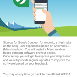 Sony's Concept for Android: Marshmallow edition available for Xperia Z3 & Xperia Z3 Compact