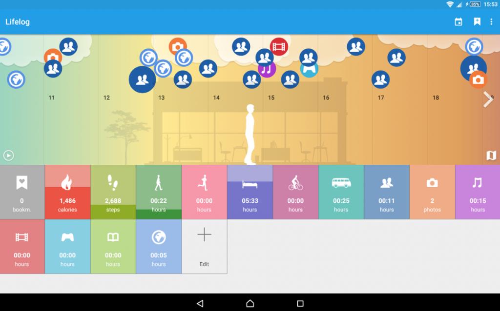 Sony Lifelog app 2.9.A.0.32