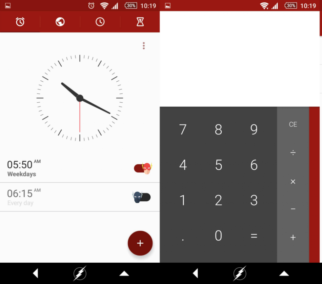 Download Xperia The Flash Theme
