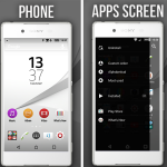 Xperia EDGE & Z5 Pro Theme – Inspired by Card Style UI and Xperia Z5 UI
