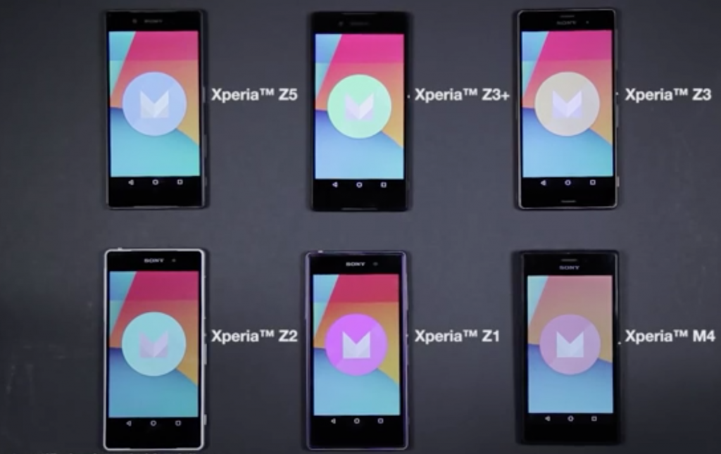 AOSP Android 6.0 Marshmallow running on Xperia Z5 Video