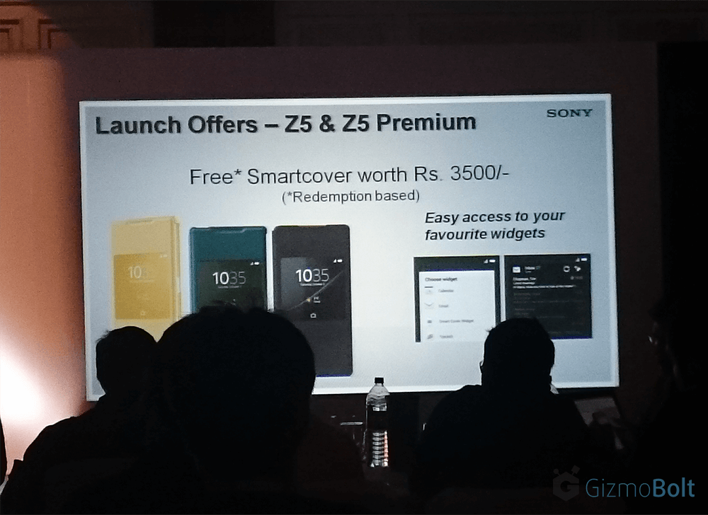 Sony Xperia Z5 Launch offers in India