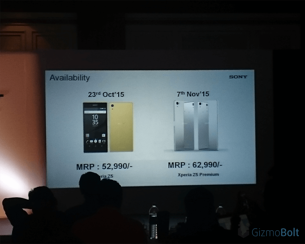 Sony Xperia Z5 price in India