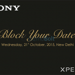 Sony India to hold press event on October 21 – Xperia Z5 series to be launched