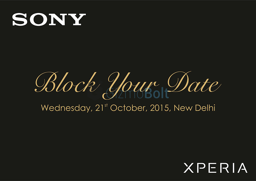 Xperia Z5 series to be launched in India