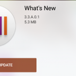 Sony What's New app 3.3.A.0.1 version update brings an option to switch themes
