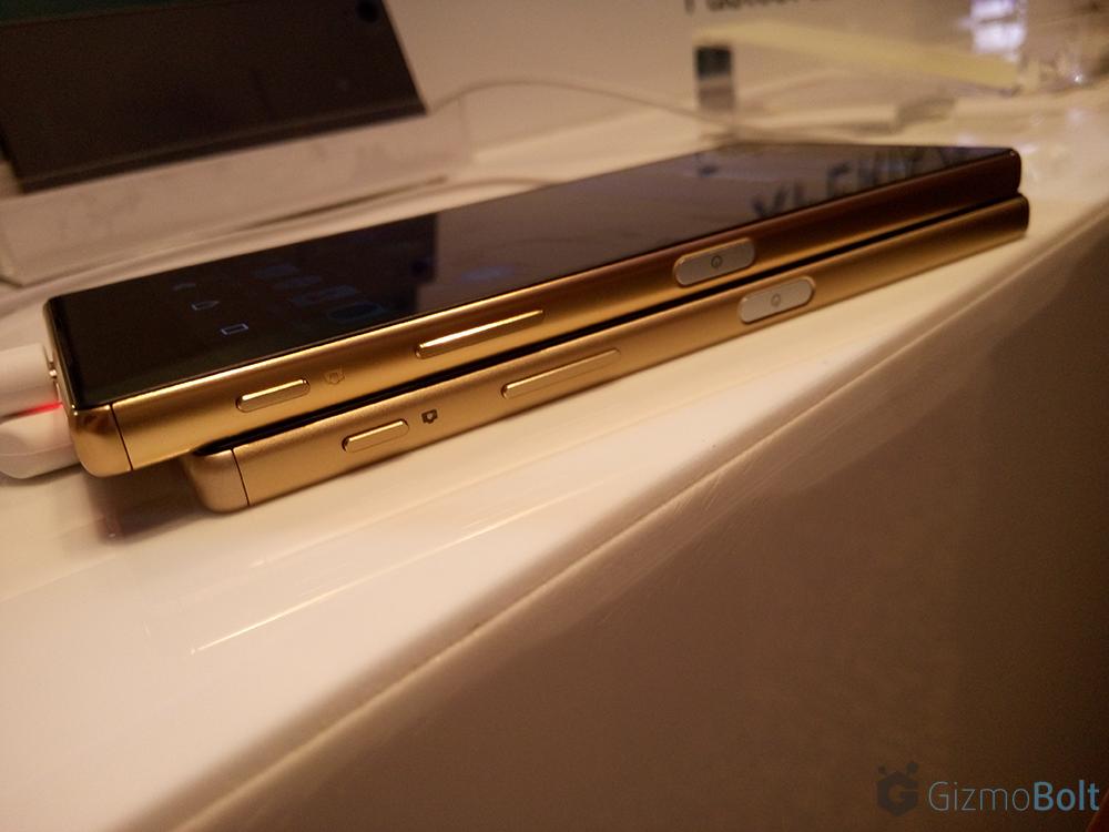 Xperia Z5 Premium vs Xperia Z5 Dimensions