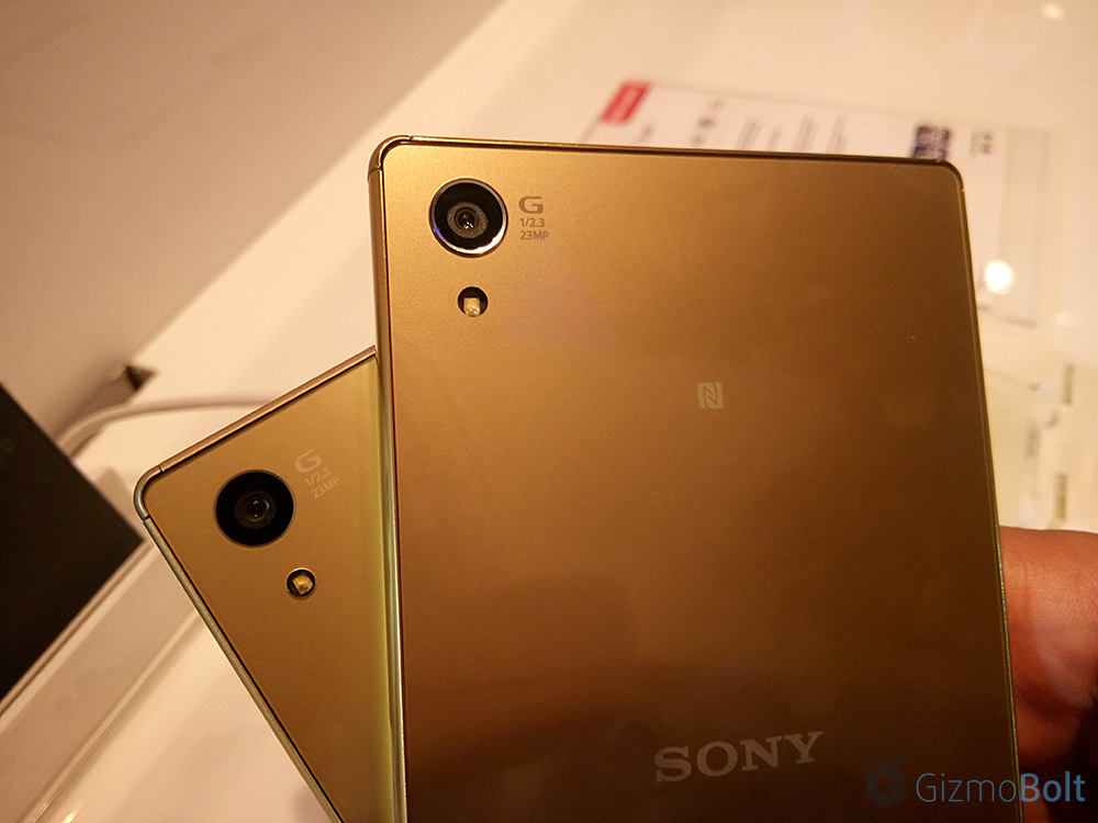 Xperia Z5 Premium vs Xperia Z5 Camera Comparison