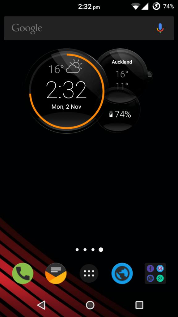Install Motorola Droid Turbo 2 Clock Commandcenter App
