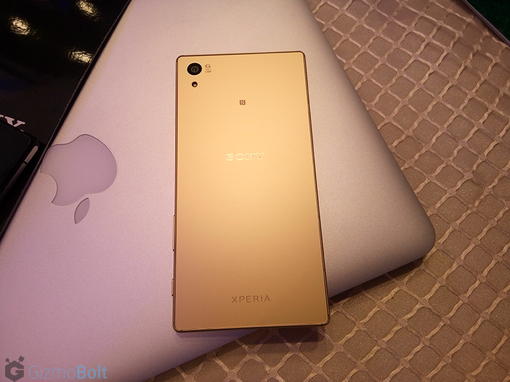 Xperia Z5 hands on