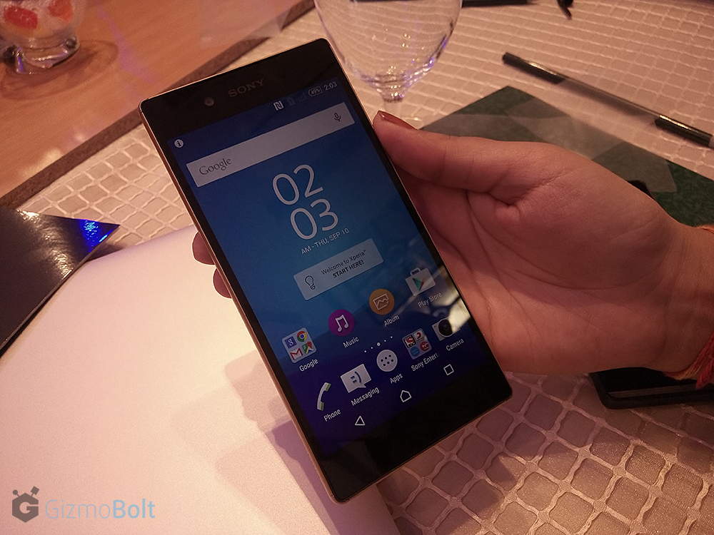 Sony Xperia Z5 hands on