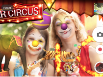 Sony Circus AR Effect Theme