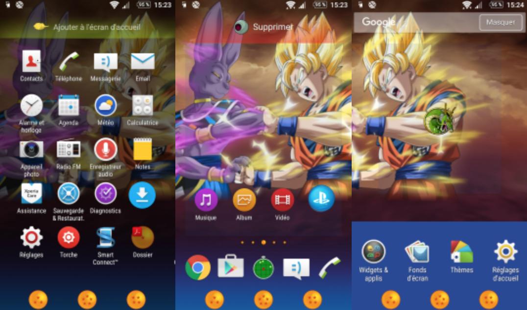 dragon ball z themes download
