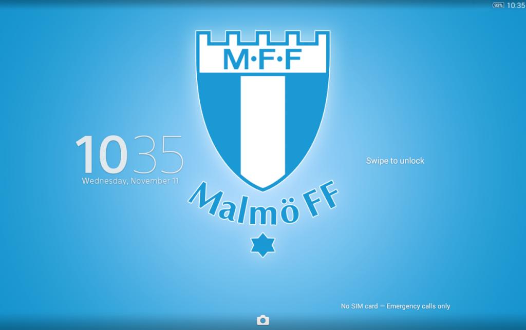Download Xperia Malmö FF Theme