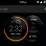 Install Motorola Droid Turbo 2 Clock CommandCenter app – Dark & Light Widgets