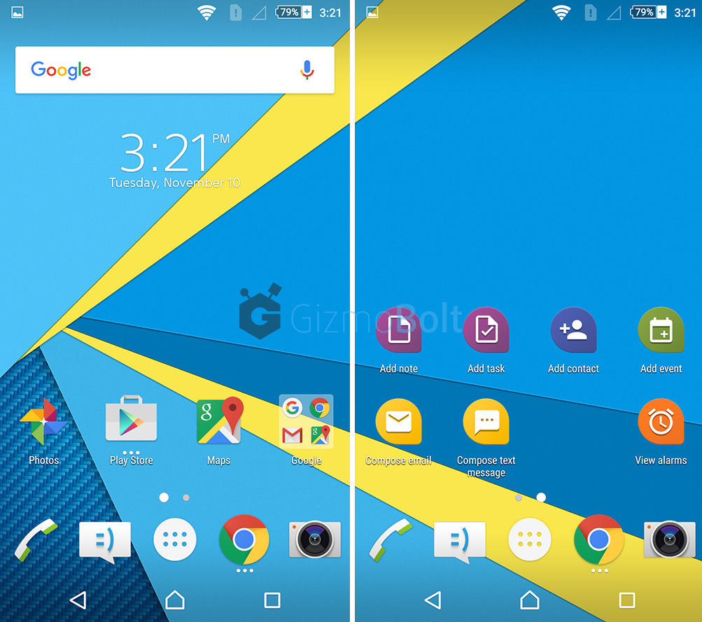 BlackBerry Priv Launcher