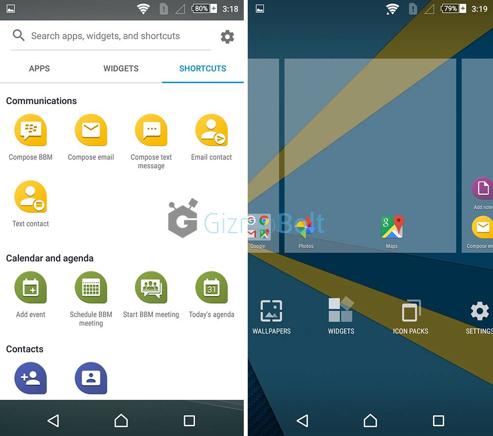 BlackBerry Priv Launcher apk