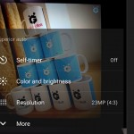 Sony Camera app resolution mode