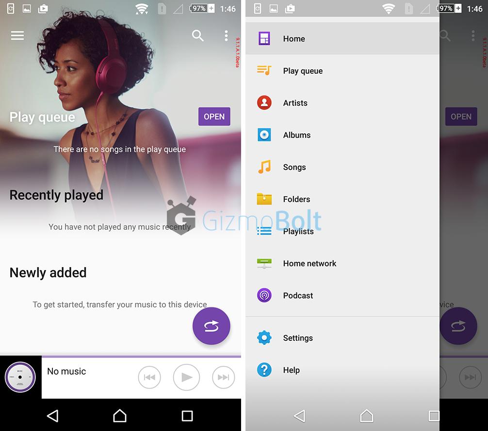 Xperia Music app 9.1.1.A.1.0 beta update