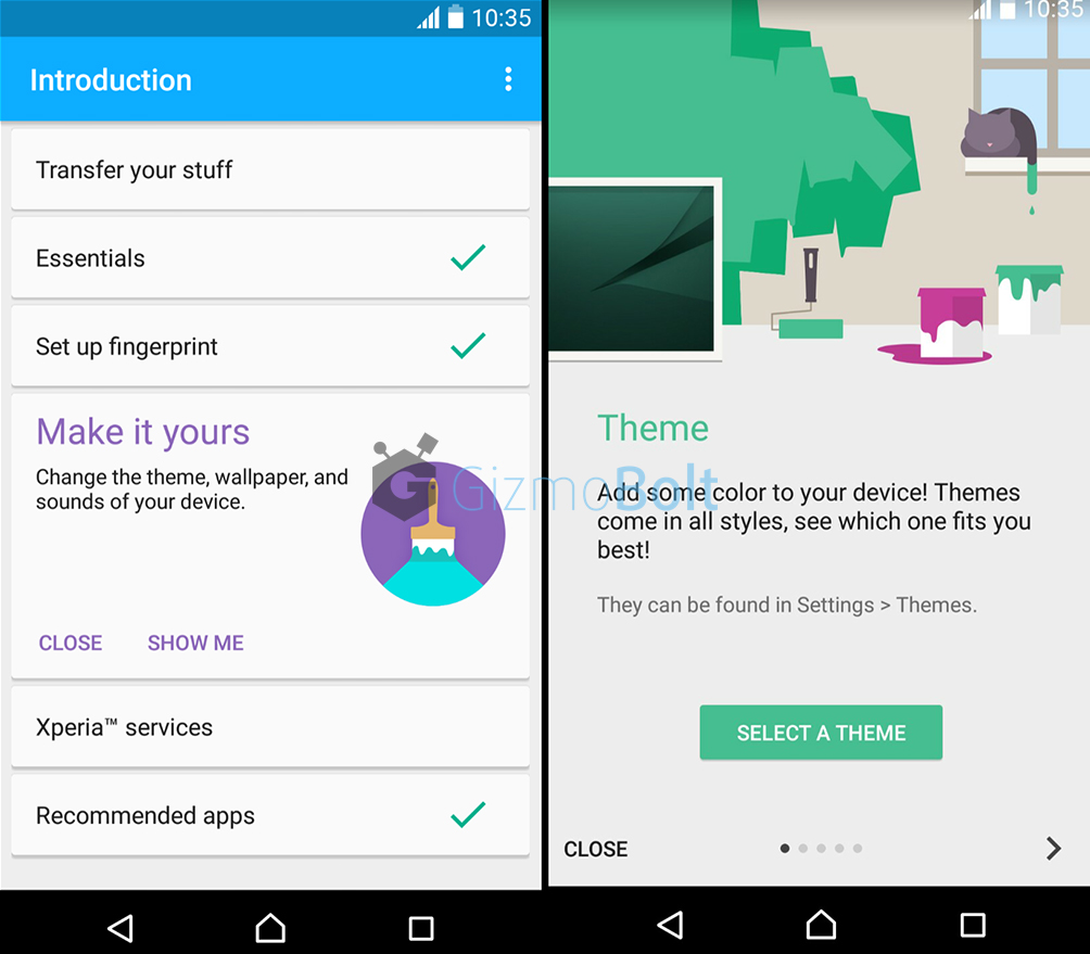 Sony Introduction app 1.1.A.0.2 version