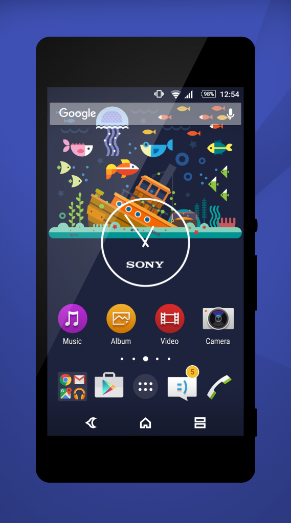 Xperia Material X Perfect Theme
