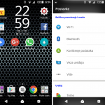 Xperia Brushed metal & LG G4 inspired theme