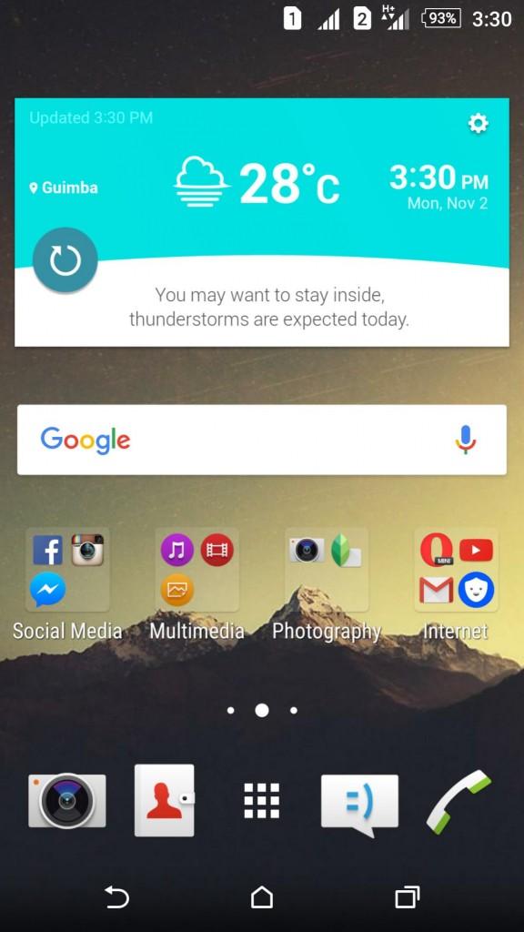 Xperia LG G4 inspired theme