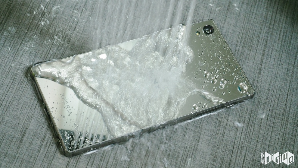 Xperia Z5 Premium Water proof handset
