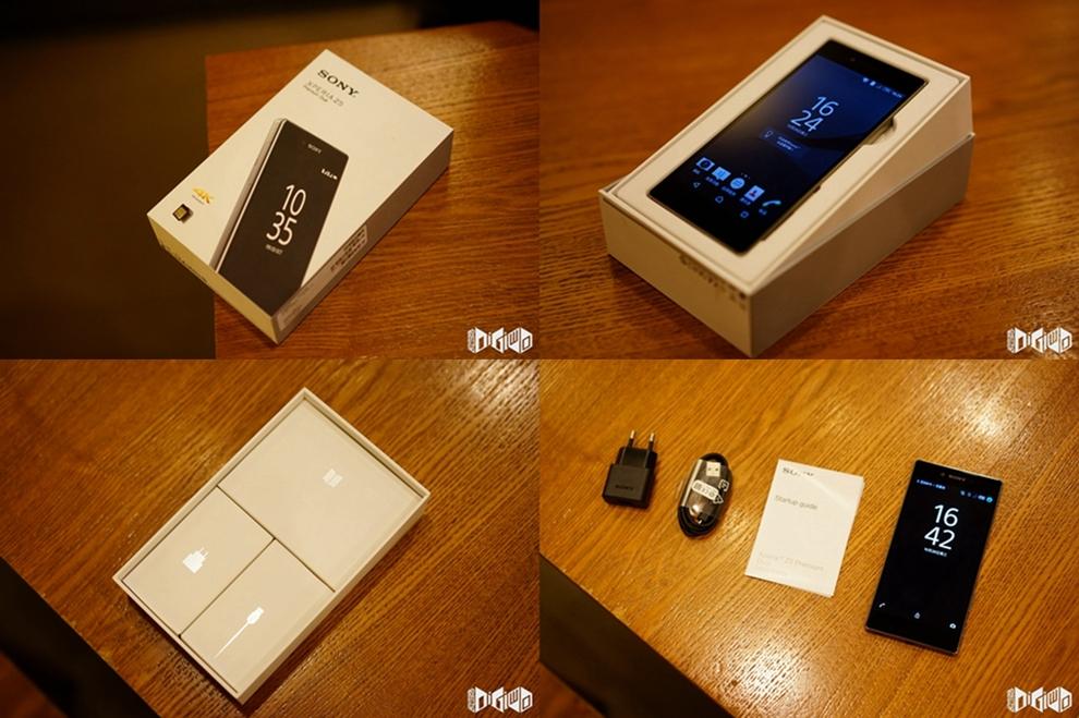Xperia Z5 Premium Unboxing Pics