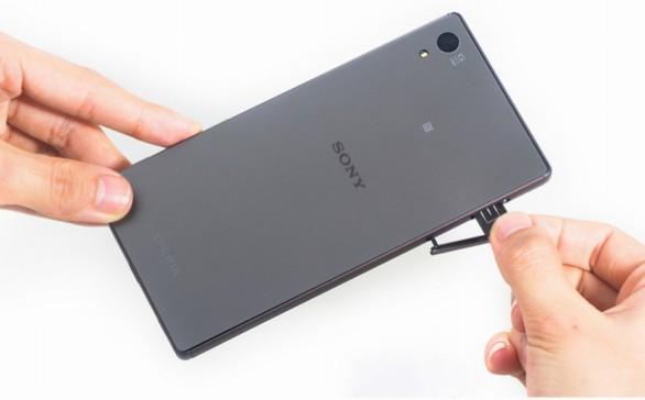 how to put sim card in sony xperia z5