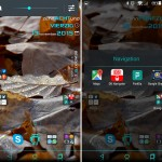 Xperia Turquoise Fall and Material X Perfect Theme for Lollipop devices