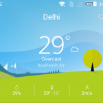Install Xperia Z5 Premium Weather App 1.0.A.0.5 version