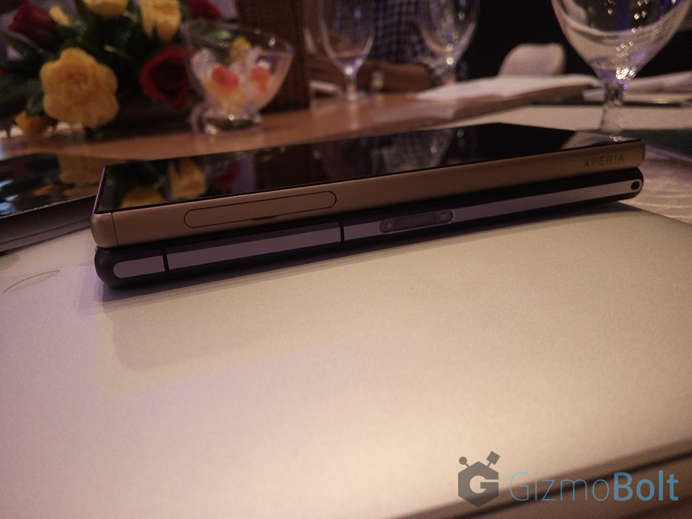 Xperia Z5 vs Xperia Z2 Design