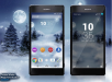 Xperia Frozen Christmas Theme